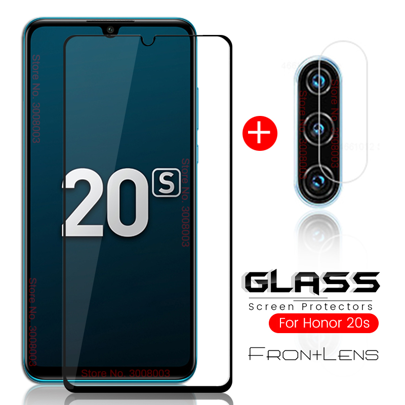 2-in-1 honor 20s protective glass for huawei honor 20s xonor 20 s camera glass honor20s mar-lx1h 6.15'' tremp protection film 9h 1
