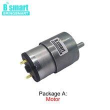 Motor bonde alto da redução da c.c. do torque de bringsmart JGB37-520 da engrenagem da c.c. inverteu o modelo 12v 6 v 24 v baixa velocidade 7-960 rpm