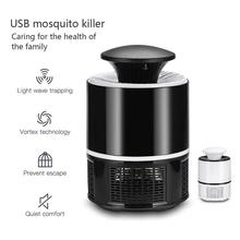 Pest-Control-Lamp Insect-Trap Mosquito-Repellent Electric Fly Rechargeable USB Black