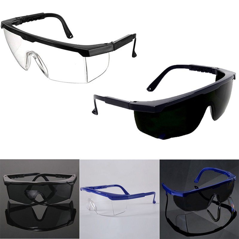 1Pc Safety Goggles Work Lab Eyewear Safety Glasses Spectacles Protection Goggles Eyewear Work