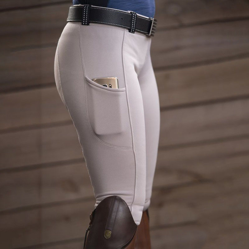 Riding Breeches Skinny Horse Ridding Pants Legging Slim Fit Pencil Tight Knee Patch Capris Chaps Bootcut Rider Trouser For Women