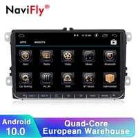 Navifly Android 10 2Din autoradio stéréo lecteur GPS pour siège Skoda Volkswagen B6 B7 Passat golf Polo Passat CC voiture multimédia