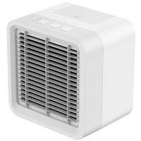 Portable Air Conditioner Fan  Mini Personal Evaporative Air Cooler Small Desktop Cooling Fan   Super Quiet Personal Table Fan