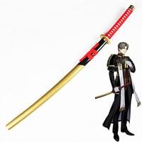 Cosplay Sword Touken Ranbu Online Props Heshikirihasebe Cos Sword Amine Game Cosplay Props Wooden Japanese Katana for Halloween