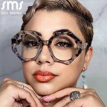 Montature per occhiali da donna lenti trasparenti ottiche miopia moda montatura in metallo occhiali da vista occhiali per Computer