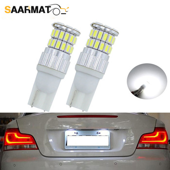 LED Light 194 168 Signal Clearance Lamp T10 W5W Interior Wedge Side License Plate Parking Lamps For BMW E46 E39 E91 E92 E93 E28 image