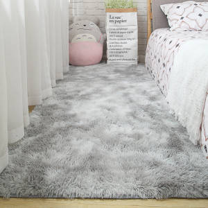 Carpet Bedroom Blanket Bedside-Mat Floor-Rug Gray Living-Room Soft Modern Household Multi-Zone-Use
