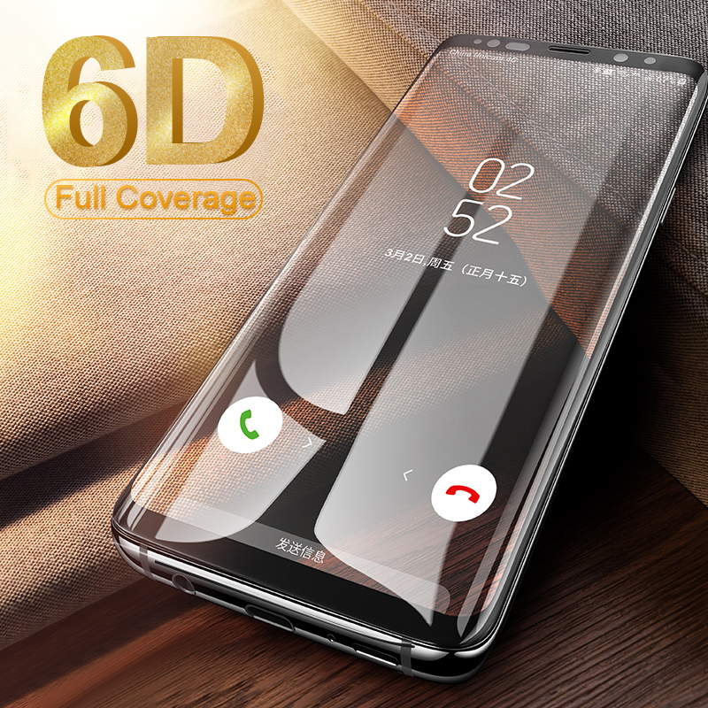 <font><b>Full</b></font> Curved <font><b>Tempered</b></font> <font><b>Glass</b></font> for <font><b>Samsung</b></font> <font><b>Galaxy</b></font> S8 S9 Plus <font><b>Full</b></font> <font><b>Glue</b></font> Screen for A8 A6 2018 S7 Edge <font><b>Note</b></font> 10 8 <font><b>9</b></font> Screen Protectors image