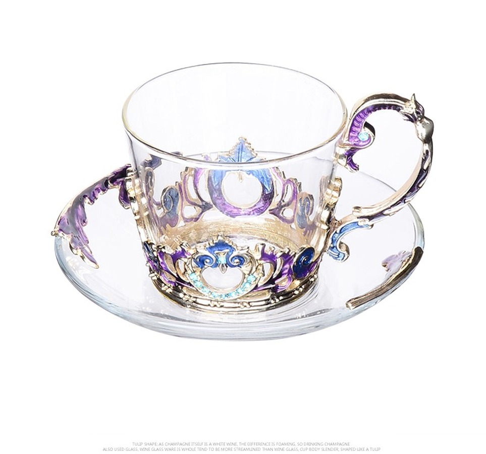 Dish And Spoon Tea Cups Saucer Sets