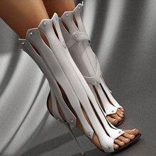 DoraTasia Brand design sexy Summer Boots Big Size 47 Party Sandals Women