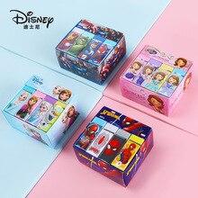 Disney Frozen 12 Pcs Eraser Primary School Children Stationery Creative Cute Cartoon Pattern Eraser kawaii office supplies