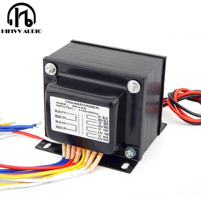 130W output voltage 230V 6.5V EL34 KT88 Tube amplifiers E transformer for power amplifier