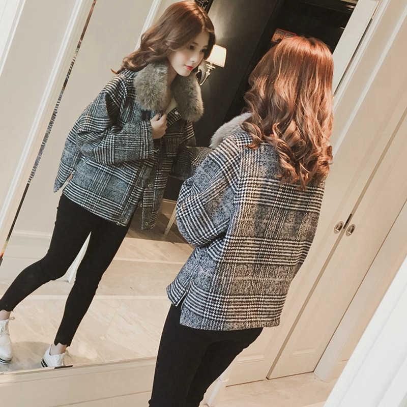 Chất Lượng cao Màu Hồng Kẻ Sọc Nữ Tweed Áo Liền Quần Mùa Xuân 2019 Tua Râu Dài Tay Áo Khoác Áo Khoác Thời Trang Đường Băng Áo Khoác