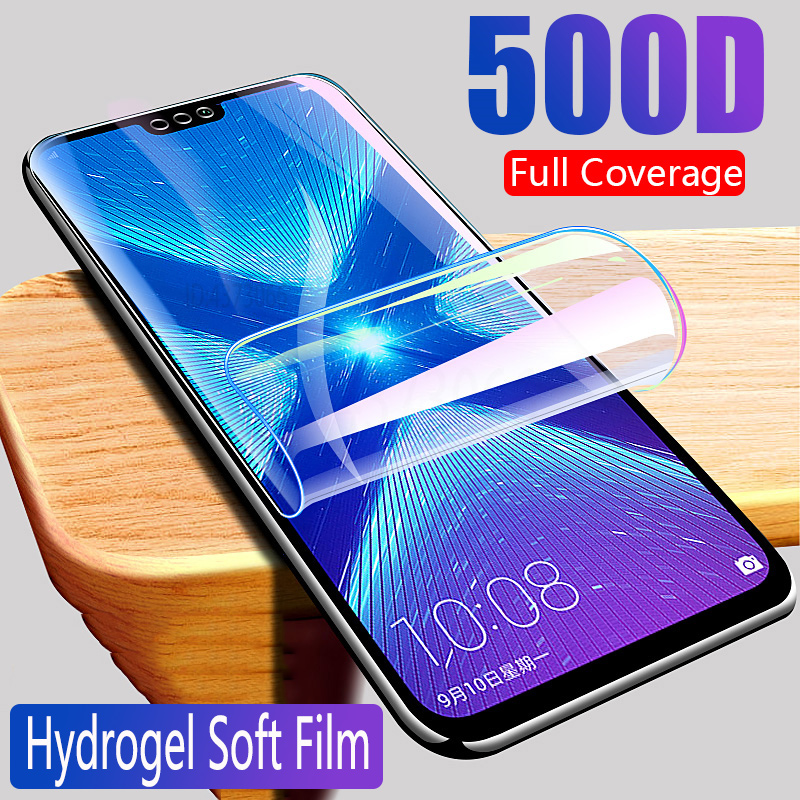 Protective Hydrogel Film For Honor 8X Max 8A 8S Screen Protector For Huawei Honor 8X 8A 8S (Not Glass) Film Foil