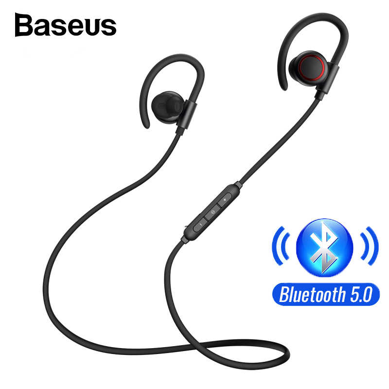 Baseus S17 Bluetooth 5 0 Sport Wireless Earphone Earphone Headphone For Xiaomi Iphone Ear Phone Buds Handsfree Headset Earbuds Aliexpress