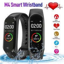 M4 Smart Pedometer Wristband Blood Pressure Heart Rate Monitor Sports Tracker Br