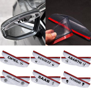 Car-Accessories 5008 Rain 3008 Peugeot 206 2008 1007 Brow for 2pcs 207/2008/301/.. Car-Styling