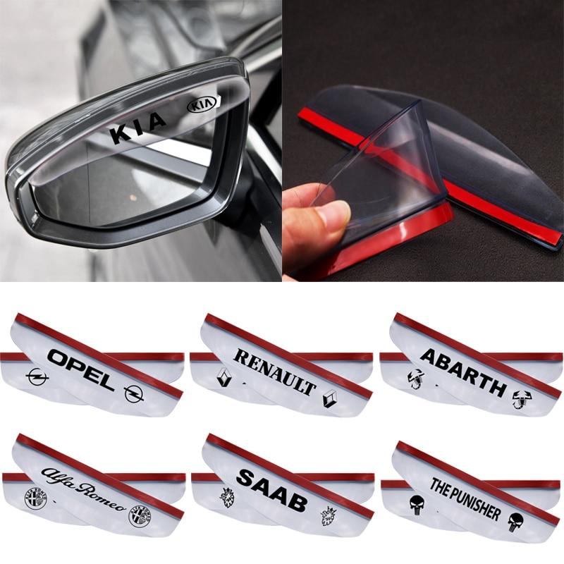 2 Pcs Mobil Styling Hujan Alis untuk Peugeot 206 207 2008 301 307 308 3008 407 408 4008 508 5008 607 806 1007 Mobil Aksesoris