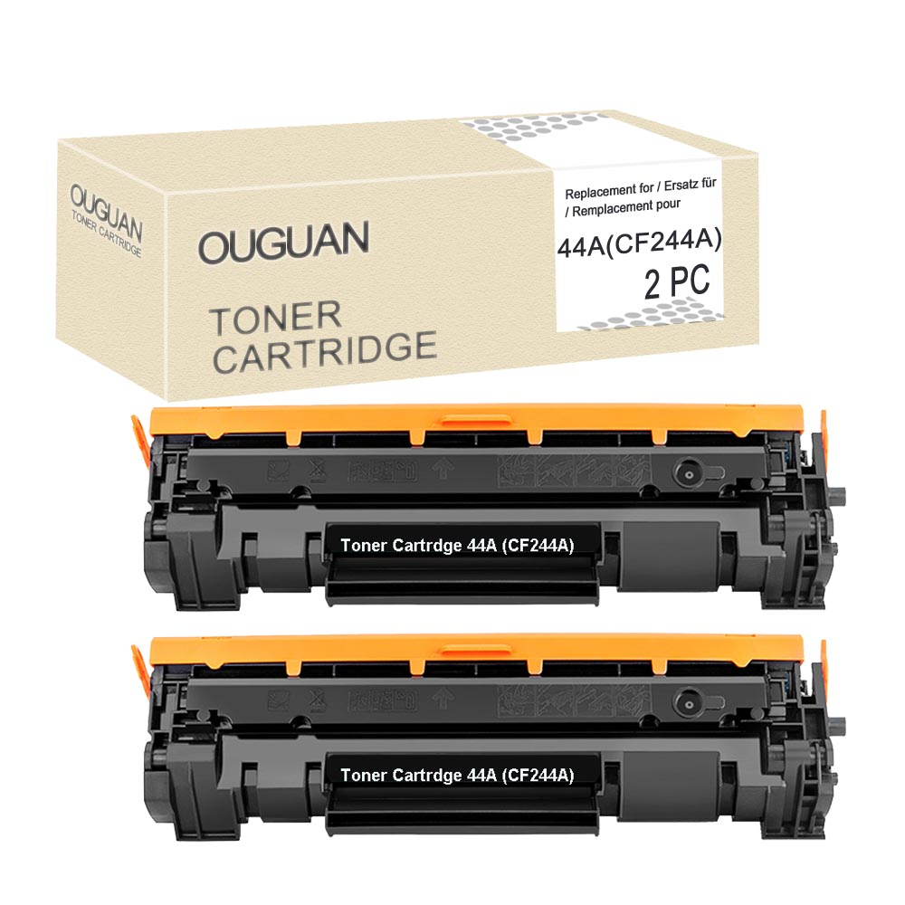 2XCompatible <font><b>CF244A</b></font> 44A Toner Cartridge for HP Laserjet Pro M15 M16 M28(with <font><b>Chip</b></font>) image
