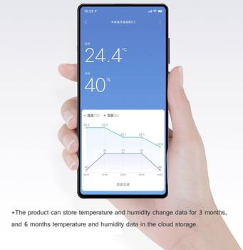 2020New Version Xiaomi Mijia Bluetooth Thermometer 2 Wireless Smart Electric Digital Hygrometer Thermometer Humidity Sensor Home 2