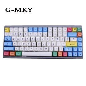 G-MKY краситель-Subtion Keycaps SA Мел Colorway Keycap SA PBT SA профиль для механической игровой клавиатуры