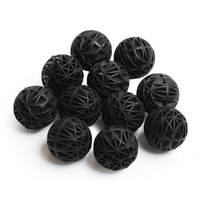 10/20/50Pc Aquarium Filter Media Bio Balls Portable Wet Dry Cotton For Air Pump Canister Clear Water Biological Ball Accessories
