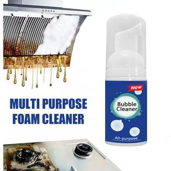 Multi-Purpose Cleaning Bubble Spray Foam Fresh Scent Kitchen Pot Rust Remover Rinse-Free Cleaning Spray Bathroom Detergent Tools
