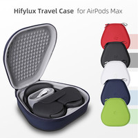 Vococal-Bolsa de almacenamiento de audífonos portátil para AirPods Max, modo hiberante inteligente, a prueba de golpes, Estuche de transporte, funda dura para auriculares