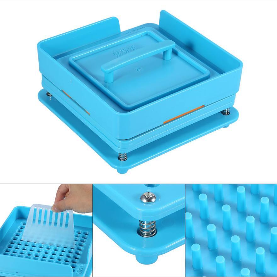 Board Capsule Filling Machine Flate Tool 100 holes Encapsulator Pharmaceutical Food Grade DIY Manual Durable Fast
