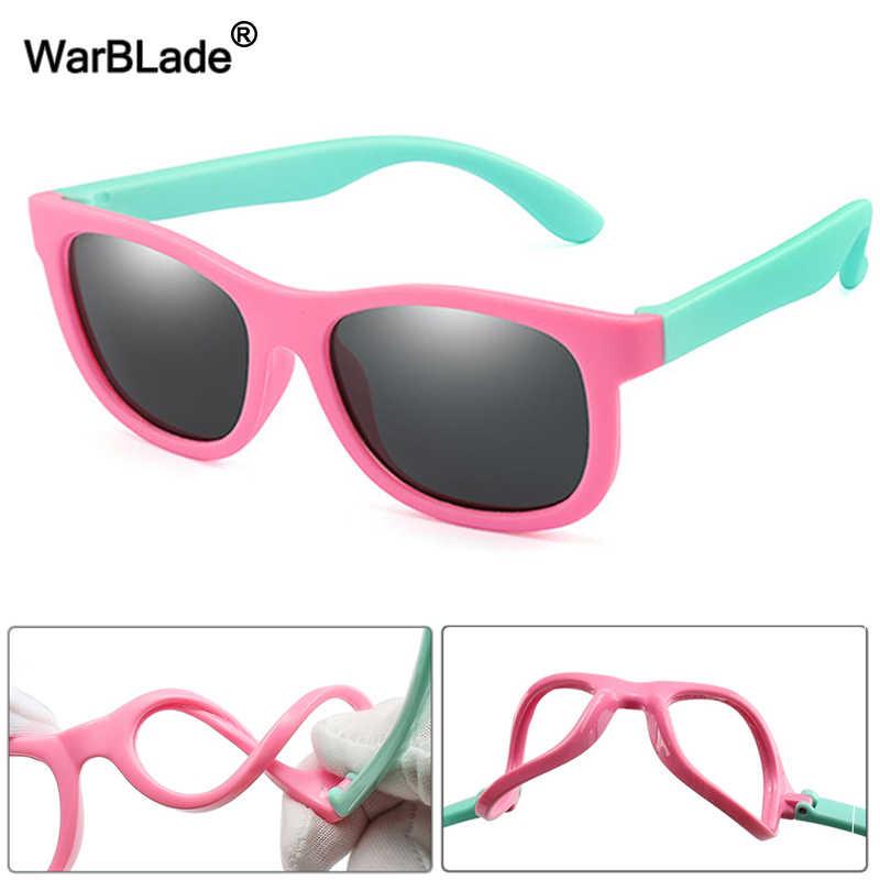 WBL ילדים מקוטב משקפי שמש TR90 בני בנות ילדי שמש משקפיים סיליקון בטיחות תינוק משקפיים UV400 Eyewear Oculos עם מקרה
