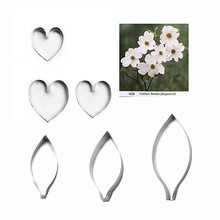 Cutters Gumpaste-Tools Sugar-Flower Polymer-Clay Baking-Cake-Decorations Cold Porcelain