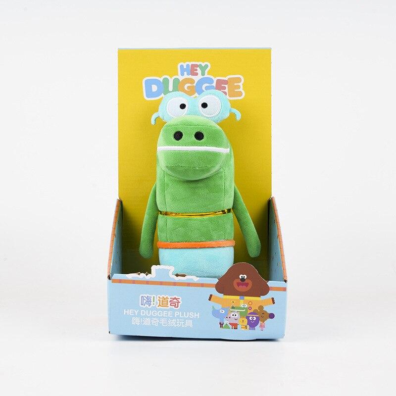 New Hey Duggeeing Kid Toy Anime Figure Toys Rhinoceros Wombat Octopus Alligator Hippo Action Figure plush Model Doll