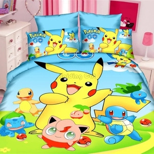 Home Textile 3D Pokemon Beddin