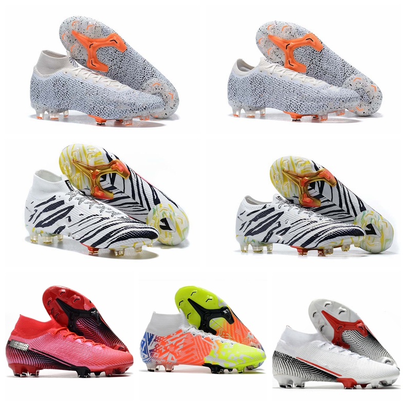 2020 Soccer shoes Original Boots Soccer SUperFlys Top FootBall Boots FG Mens High Ankle Soccer Cleat|Soccer Shoes|   - AliExpress