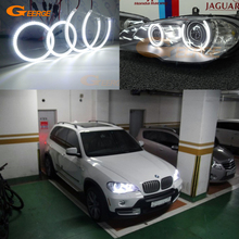Excellent Ultra bright smd led Angel Eyes kit halo rings DRL For BMW X5 e70 2007 2008 2009 2010 2011 2012 2013 fender flare wheel extension arches for bmw x5 e70 2009 2010 2011 2012 2013