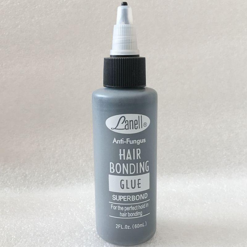 1 Bottle/Lot 2 Oz 60 Ml Lanell Black Hair Weaving Bond Anti-fungus Hair Bonding Glue
