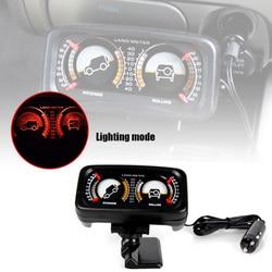 Codice di errore di Visualizzazione di Allarme Auto HUD Head-Up Display Ad Alta Definizione Dello Schermo A CRISTALLI LIQUIDI di trasporto Pendenza Indicatore di Terra Meter con LED luce per Off-Ro