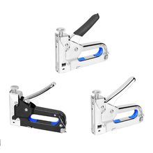 3 in 1 Nail Staple Gun Set 3 Ways Stapler Tacker with 3 Boxes Nails Home Office