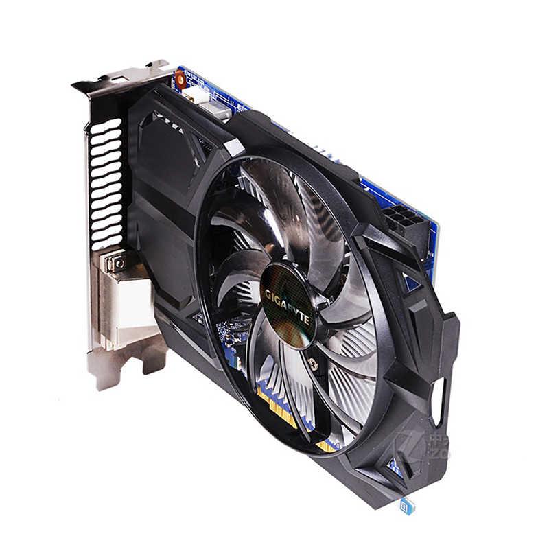 GIGABYTE tarjeta gráfica GTX 750 Ti con 128 poco NVIDIA GeForce 2GB GDDR5 para PC Hdmi Dvi VGA de tarjetas gtx 750 ti tarjeta de video GPU
