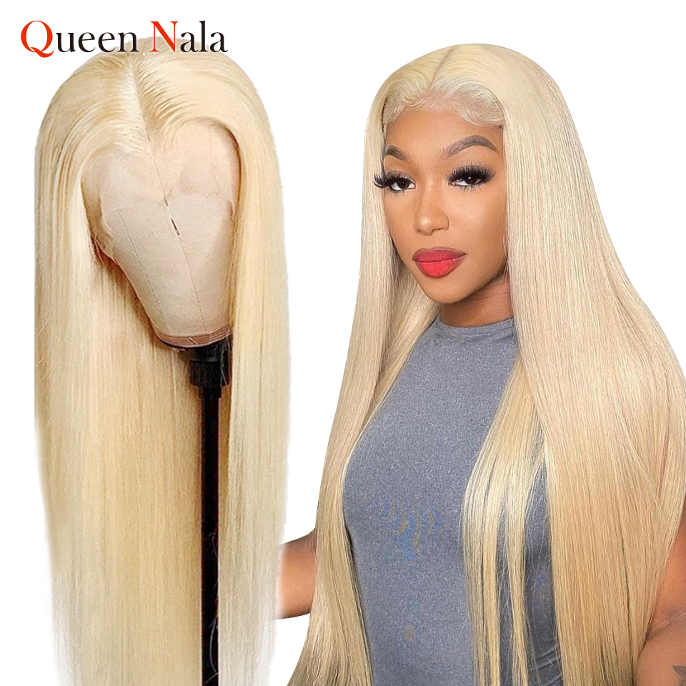 613 парик на сетке спереди, бразильские прямые парики на сетке спереди, парик блонд для женщин, парик на прозрачной сетке с естественной линие...