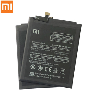 Image 2 - Xiao Mi Original Replacement Battery BN31 For Xiaomi Mi 5X Mi5X Xiaomi A1 Xiaomi Redmi Note 5A Authentic Phone Battery 3080mAh