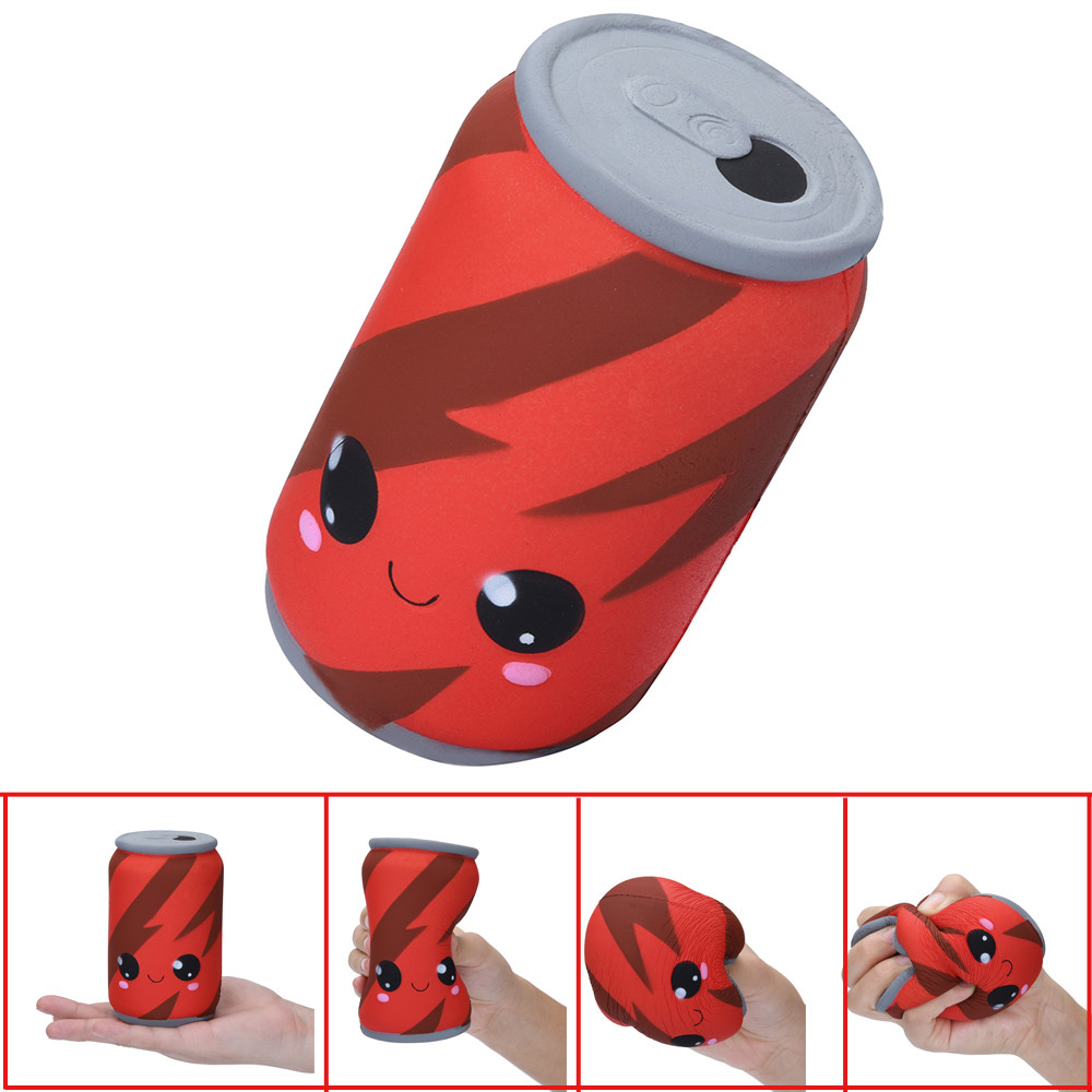 Slow Rebound Cans Cola Simulation Buck Toy 1PC Cute Slow Rising Kid Collection Squeeze Stress Relieve Anxiet Gift Toys  L1227