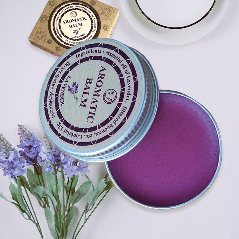 Lavender Sleepless Cream Improve Sleep Soothe Mood Aromatic Balm Insomnia Relax  Parfum Women Perfume TSLM1 3