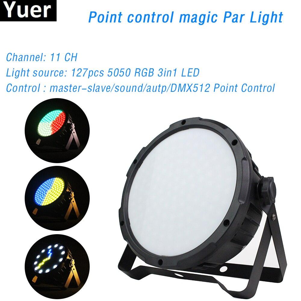 127X0.5W SMD 5050 RGB 3IN1 LED Point Control Par Light DMX 512 Professional DJ Disco Stage Effect Lighting For Club Party Bar