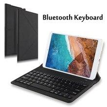 Wireless Bluetooth Keyboard Case For Xiaomi Mi 9 Mi9 SE 8lite Max 7 Mix2 red mi 5s RedMi 7 Note4 5A 4X Pro Mobile phone Cover luanke 3d relief kickstand cover case for xiaomi redmi 4x