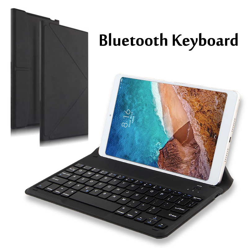 Wireless Bluetooth keyboard <font><b>Case</b></font> For Samsung galaxy Note <font><b>GT</b></font> <font><b>N8000</b></font> N8010 2014 Edition P600 P601 / Pro 10.1 T520 Tablet PC Cover image