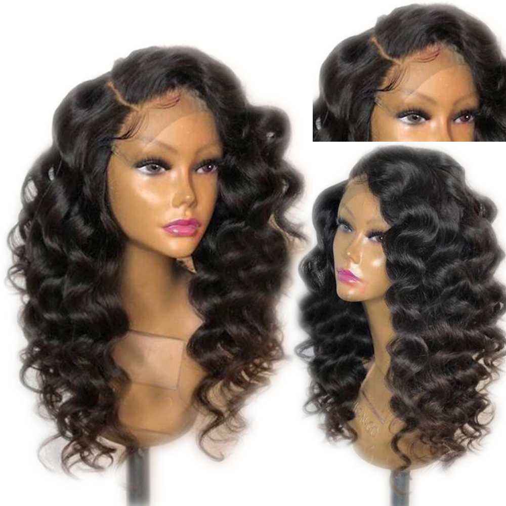 Eversilky 4x4 Silk Top Deep Wave Lace Front Human Hair Wigs Pre Plucked Hairline With Baby Hair Brazilian Remy Natural Hair Wig