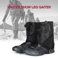 Походные снежные гетры Водонепроницаемая короткая защита для ног покрытие для бега тропа гетры галоши для езды на велосипеде