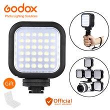 Godox LED36 Video ışığı 36 LED açık fotoğraf ışıkları lambası 5500 ~ 6500K Canon eos 70d 6d DSLR kamera kamera DVR aksesuarları