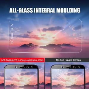 Image 2 - Protecteur décran 3 pièces en verre trempé pour Xiaomi Redmi Note 5 7 8 6 Pro 5A 6 pour Redmi 5 Plus 5A 6A Film de protection en verre complet